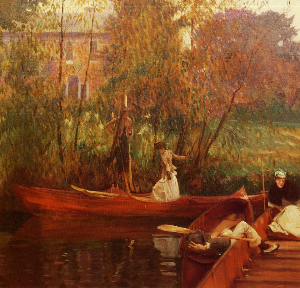 A boating party, 1889, John Singer Sargent